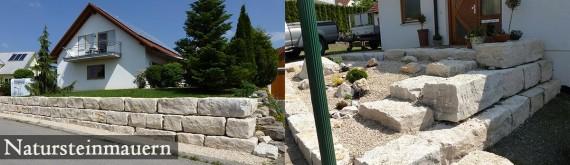 04 – Gilde Gartenbau Bisingen Natursteinmauern