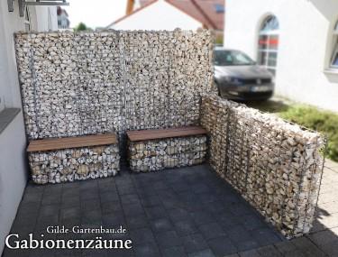 Gilde Gartenbau Bisingen Gabionenzäune 03