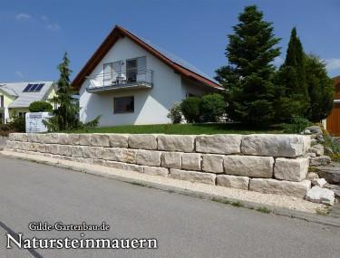 Gilde Gartenbau Bisingen Natursteinmauern 01