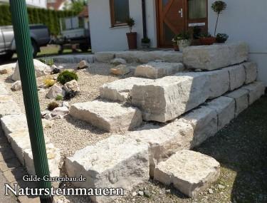 Gilde Gartenbau Bisingen Natursteinmauern 02