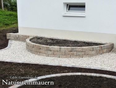 Gilde Gartenbau Bisingen Natursteinmauern 03
