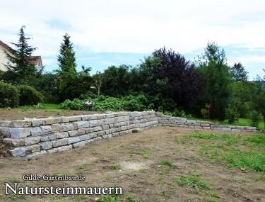 Gilde Gartenbau Bisingen Natursteinmauern 04