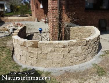 Gilde Gartenbau Bisingen Natursteinmauern 05