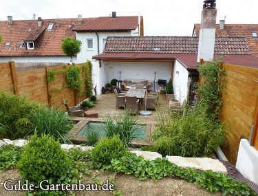 Gilde Gartenbau Bisingen Projekt Gartenanlage 06