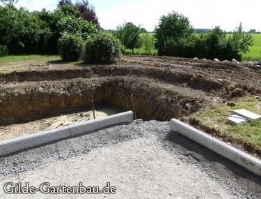 Gilde Gartenbau Bisingen Projekt Teichanlage 01