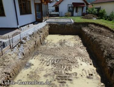 Gilde Gartenbau Bisingen Projekt Teichanlage 03