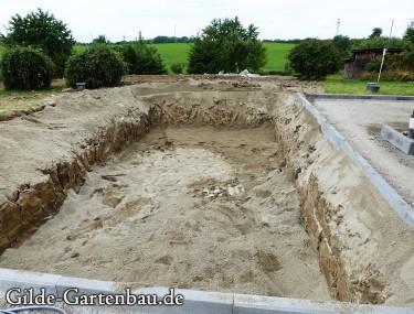 Gilde Gartenbau Bisingen Projekt Teichanlage 04