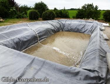Gilde Gartenbau Bisingen Projekt Teichanlage 06