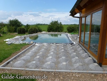 Gilde Gartenbau Bisingen Projekt Teichanlage 08