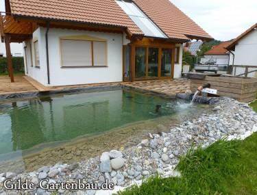 Gilde Gartenbau Bisingen Projekt Teichanlage 09