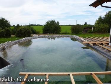 Gilde Gartenbau Bisingen Projekt Teichanlage 10