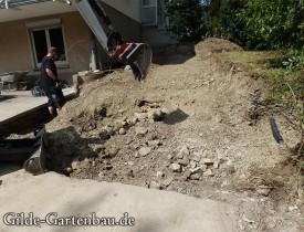 Gilde Gartenbau Bisingen Projekt Treppenbau 05