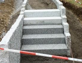 Gilde Gartenbau Bisingen Projekt Treppenbau 08