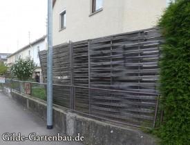 Gilde Gartenbau Bisingen Projekt Zugang zur Haustür + Terasse 03