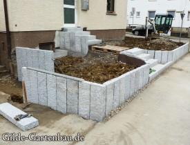 Gilde Gartenbau Bisingen Projekt Zugang zur Haustür + Terasse 10