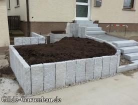 Gilde Gartenbau Bisingen Projekt Zugang zur Haustür + Terasse 11