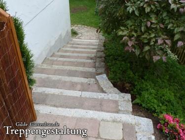 Gilde Gartenbau Bisingen Treppengestaltung 02