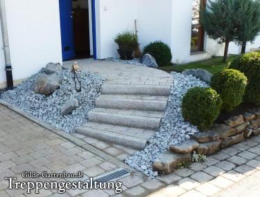 Gilde Gartenbau Bisingen Treppengestaltung 03