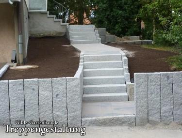 Gilde Gartenbau Bisingen Treppengestaltung 04